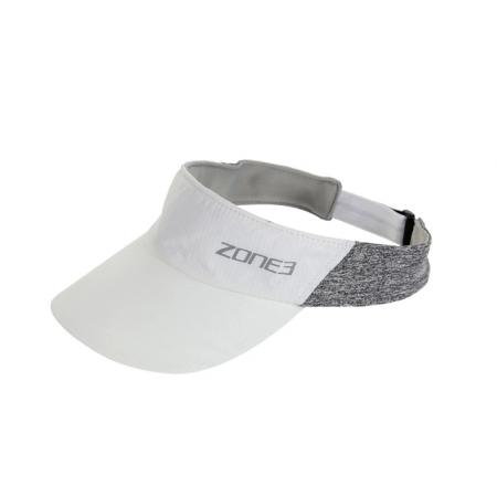 VISERA ZONE3 LIGHTWEIGHT RACE VISOR WHITE REFLECTIVE