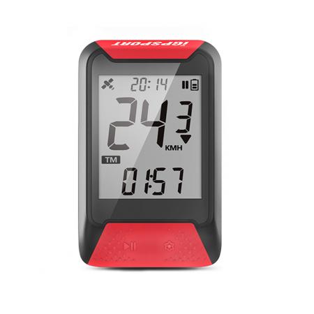 CICLOCOMPUTADOR IGPSPORT GPS iGS130 ROJO