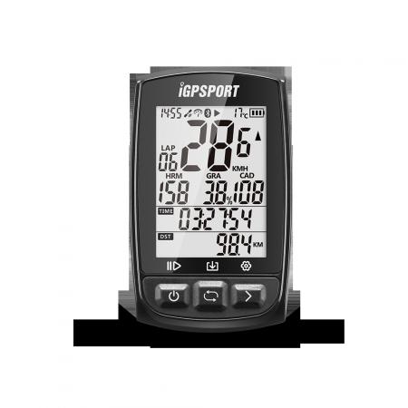 CICLOCOMPUTADOR IGPSPORT GPS iGS50E CON ANT+ NEGRO