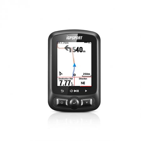 CICLOCOMPUTADOR IGPSPORT GPS iGS618 CON ANT+ NEGRO