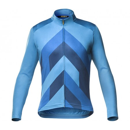 MAILLOT MAVIC COSMIC LS JERSEY GRAPHIC FJORD