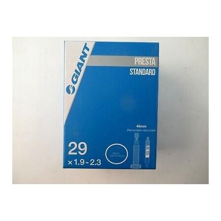 CAMARA GIANT 29X1.9-2.3 VF 48MM CON VALVULA EXTRAIBLE