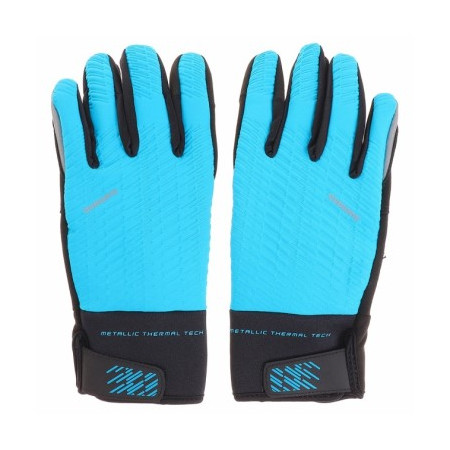 GUANTES SHIMANO WINDSTOPPER AZUL