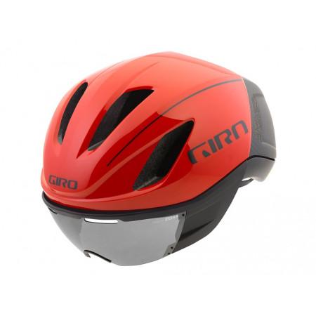 CASCO GIRO VANQUISH MIPS BRIGHT RED/BLACK MIPS T-S